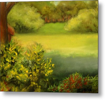 Peace And Solitude Metal Print by Annie St Martin