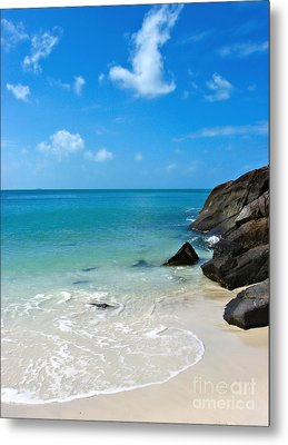 Peace At Whitehaven Metal Print by Nicole Doyle