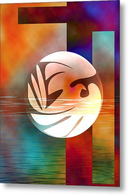 Peace Dove Metal Print by Bruce Manaka