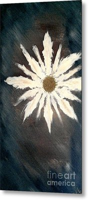 Metal Print featuring the painting Peace Flower by Jacqueline McReynolds