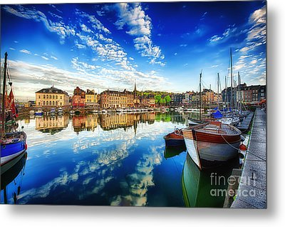 Peace Honfleur Metal Print by Jack Torcello
