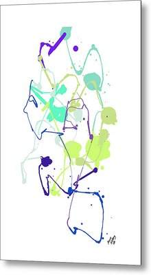 Peace In The Garden Metal Print