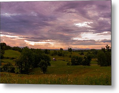 Peace In The Valley Metal Print by Haren Images- Kriss Haren