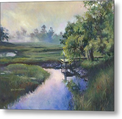Peace Like A River Metal Print by Alice Grimsley