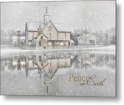 Peace On Earth Metal Print by Lori Deiter