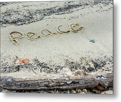 Peace On Earth Metal Print by Melinda Fawver