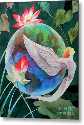 Peace On Earth Metal Print by Robert Hooper
