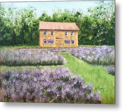 Peace Valley Lavender Farm Metal Print