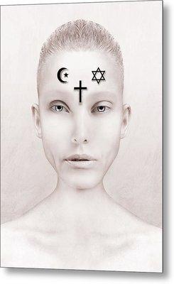 Peace Metal Print by Yosi Cupano