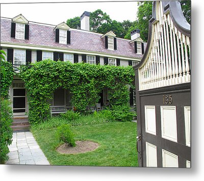 Peacefield The Old House Metal Print