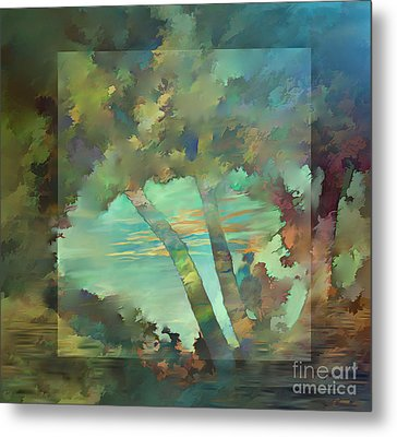 Peaceful Dawn Metal Print by Ursula Freer