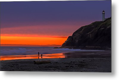 Peaceful Evening Metal Print by Robert Bales