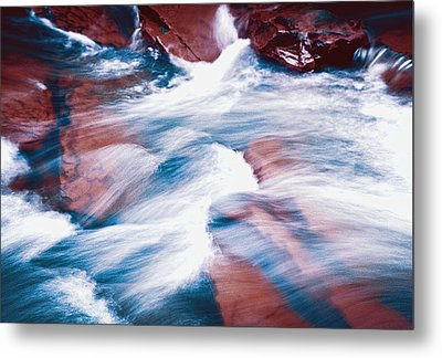 Peaceful Flow Metal Print by Kellice Swaggerty
