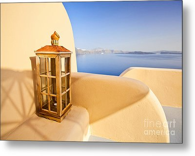 Peaceful Hour Metal Print by Aiolos Greek Collections