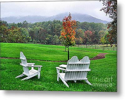 Metal Print featuring the photograph Peaceful Spot  by John S