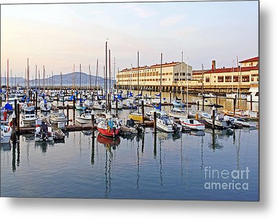 Metal Print featuring the photograph Peaceful Marina by Kate Brown
