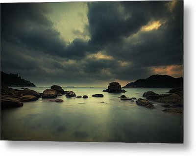 Metal Print featuring the photograph Peaceful Moment 1 by Afrison Ma