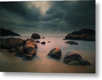 Peaceful Moment 3 Metal Print by Afrison Ma
