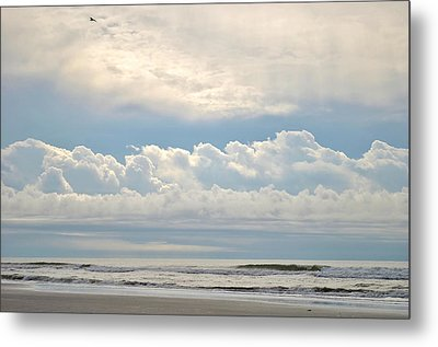 Peaceful Morning Metal Print by Kelly Nowak