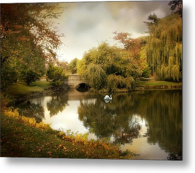 Peaceful Presence Metal Print