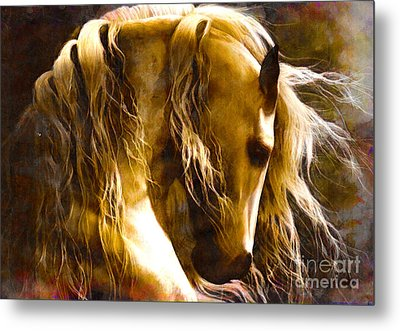 Peaceful Metal Print by Yanni Theodorou