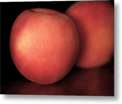 Peach Metal Print by Rona Black