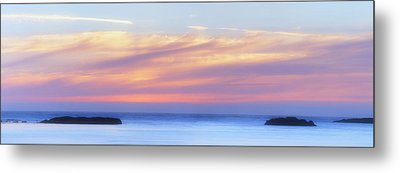Peaches And Cream Metal Print by Mark Kiver