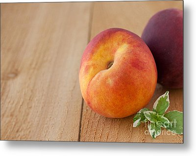 Peaches Metal Print by Kay Pickens