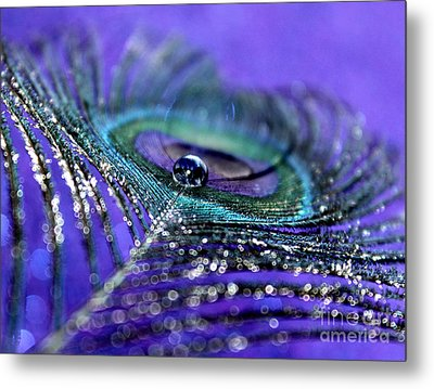 Peacock Spirit Metal Print