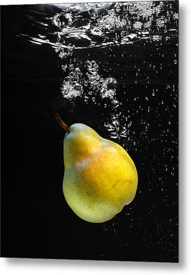 Metal Print featuring the photograph Pear by Krasimir Tolev