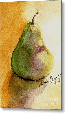 Pear Metal Print by Marcia Breznay
