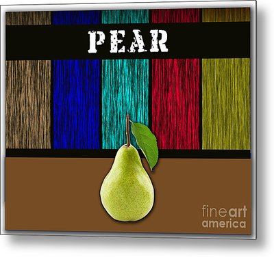 Pear Metal Print by Marvin Blaine
