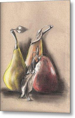 Pear2 Metal Print by Hae Kim