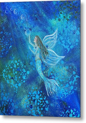 Pearl Out Of The Depths Metal Print by The Art With A Heart By Charlotte Phillips