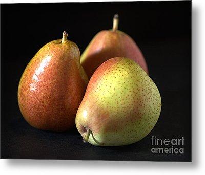 Pears Metal Print by Joy Watson