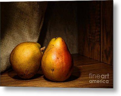 Pears Metal Print by Olivier Le Queinec