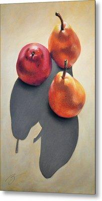 Pears Pastel Metal Print