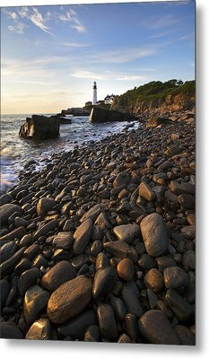Pebble Beach Metal Print by Eric Gendron