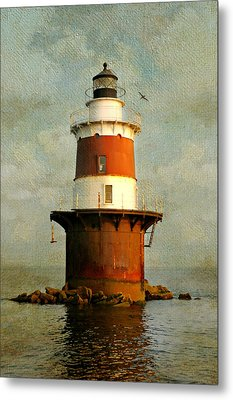 Peck's Ledge  Metal Print by Diana Angstadt