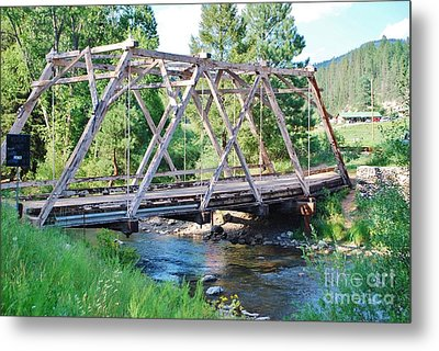 Metal Print featuring the photograph Pecos River Bridge by William Wyckoff