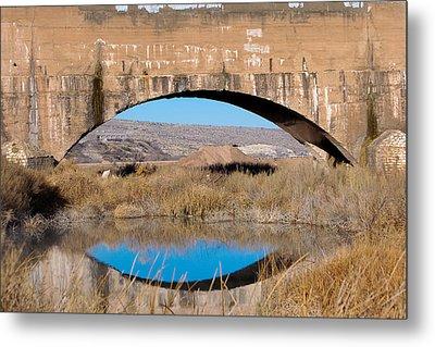 Pecos River Flume Metal Print