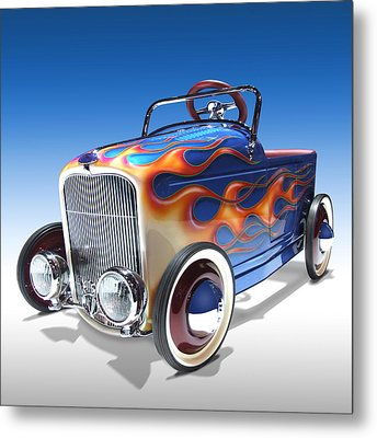Peddle Car Metal Print