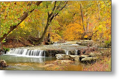 Metal Print featuring the photograph Pedelo Falls by Deena Stoddard