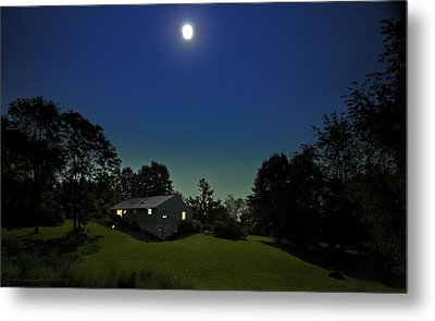 Metal Print featuring the photograph Pegasus And Moon by Greg Reed