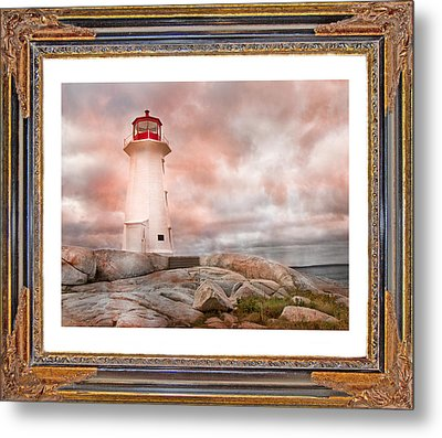 Peggy's Beauty Metal Print by Betsy Knapp