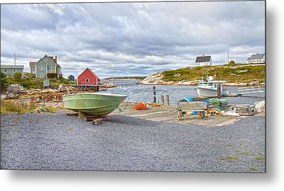 Peggy's Cove 1 Metal Print by Betsy Knapp