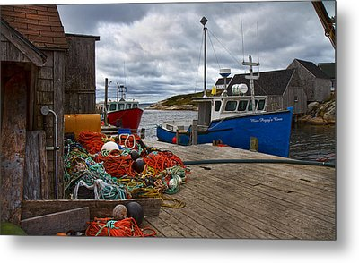 Peggy's Cove 18 Metal Print