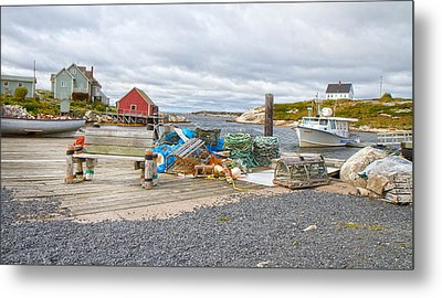 Peggy's Cove 2 Metal Print by Betsy Knapp
