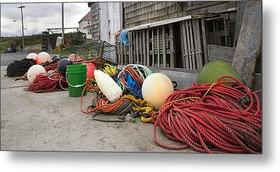 Peggy's Cove 21 Metal Print by Betsy Knapp
