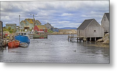 Peggy's Cove 22 Metal Print by Betsy Knapp